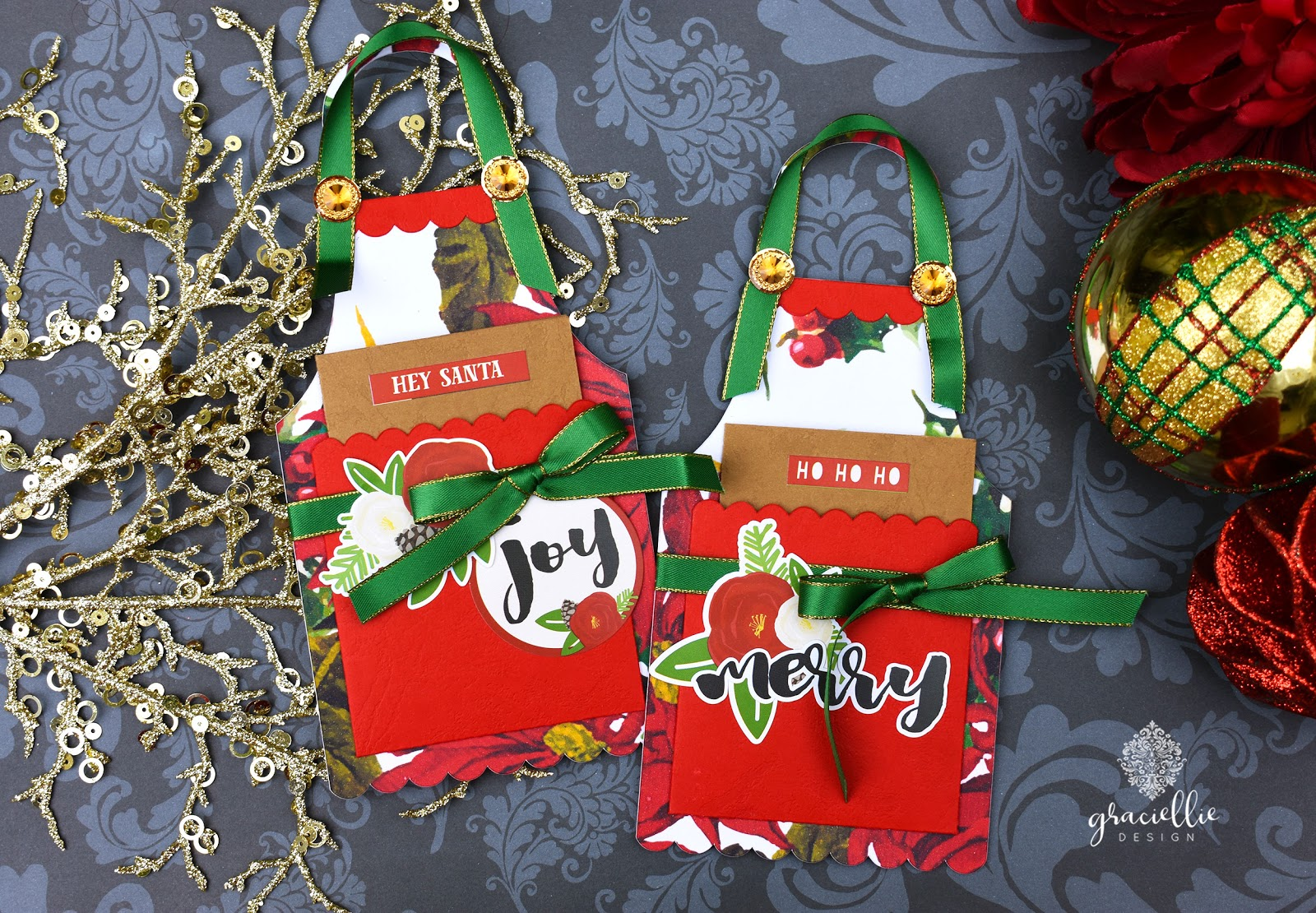 WINNERS + Last Minute Gifts for Christmas: Apron Gift Card Holders ...