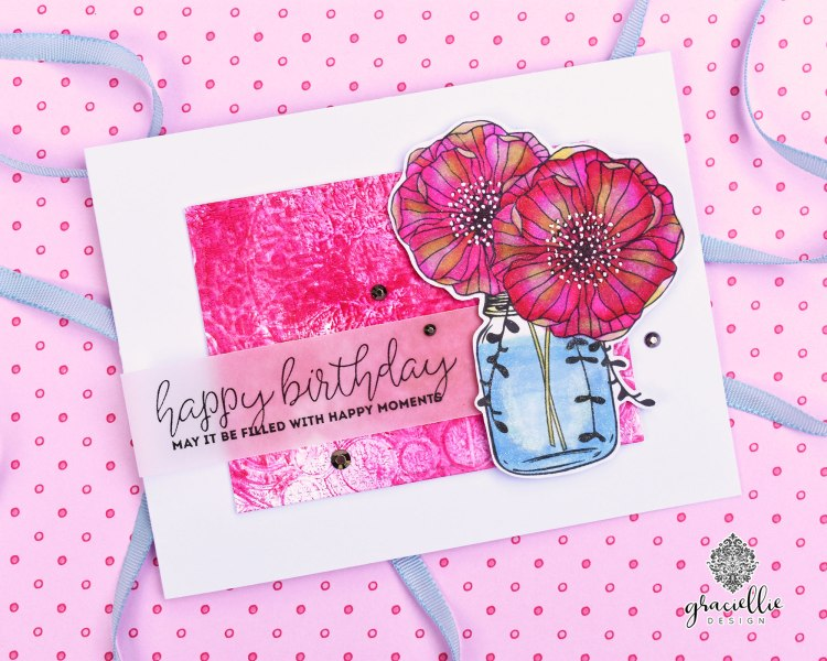 UnityStampCompanyMasonJarFlower_HappyMoments_GraciellieDesign1