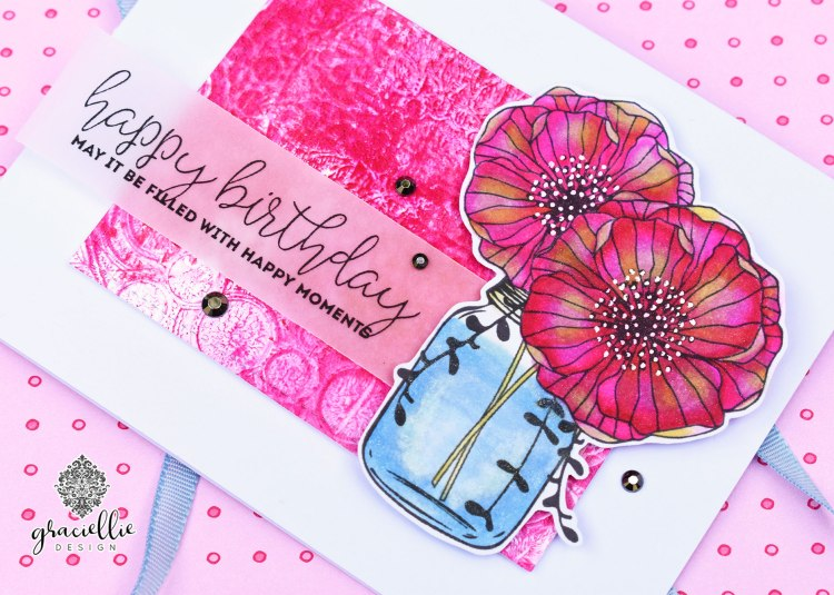 UnityStampCompanyMasonJarFlower_HappyMoments_GraciellieDesign2