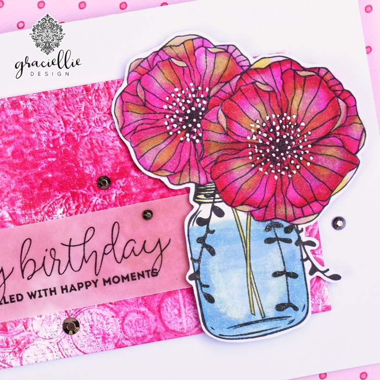 UnityStampCompanyMasonJarFlower_HappyMoments_GraciellieDesign3
