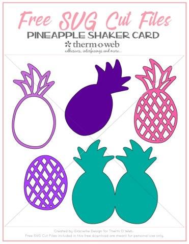 PineappleShakerCard_FreeSVGCuts_CreatedbyGraciellieDesignforThermOWeb