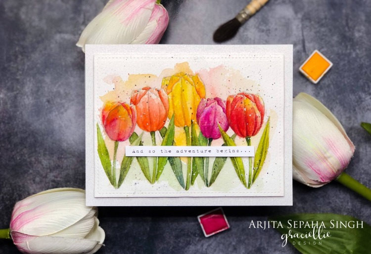 Tulips&DaisiesDigitalStamps_GraciellieDesign_Arjita